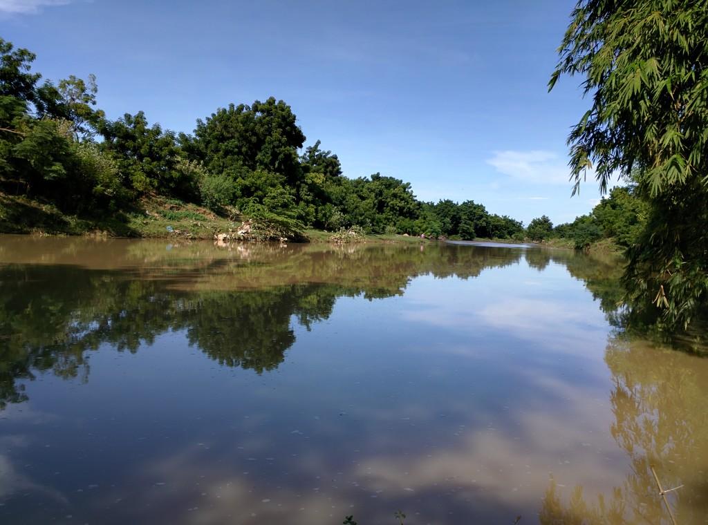 Sông Lu mùa nước về